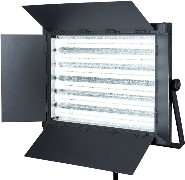 FloLight Fluorescent Dim 300 Watt Daylight and Tungsten Video and Photo lighting - no flicker - Softbox