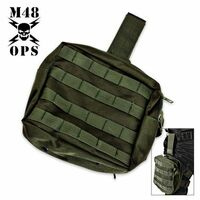 Military Tactical Leg Bag Green