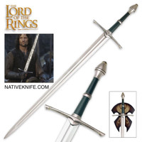 THE LORD OF THE RINGS SWORD OF STRIDER UC1299