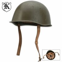 Military Surplus Czech Steel Helmet OD Green
