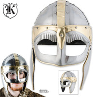 Historic Iron Barbarian Collectible War Helmet
