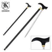 Classic Gent Self Defense Sword Cane