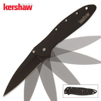 Kershaw Leek Assisted Opening Pocket Knife Black