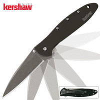 Kershaw Leek Assisted Opening Pocket Knife Stonewash