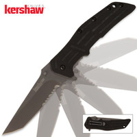 Kershaw RJII Assisted Opening Pocket Knife Serrated