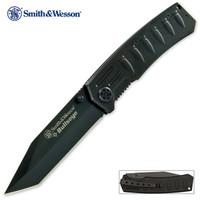 Smith & Wesson Bullseye Tactical Tanto Pocket Knife