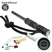 Smith & Wesson Extraction & Evasion Fire Striker & Survival Kit