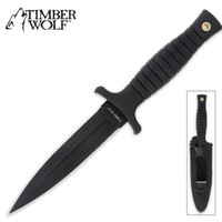 Timber Wolf Tactical Boot Knife with Sheath