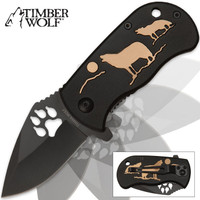 Timber Wolf Pack Leader Assisted Opening Pocket Knife