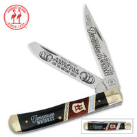 Kissing Crane® Tennessee Whiskey Trapper Knife