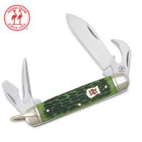 Kissing Crane Scout Pocket Knife Olive