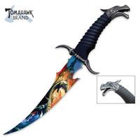 Fantasy Dragon Bowie Knife