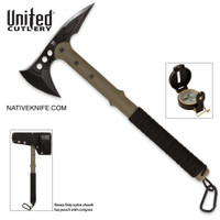 M48 Ranger Tomahawk Axe with Lensatic Compass and Sheath UC2836