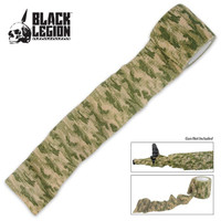 Black Legion Covert Gun Wrap Woodland Digital