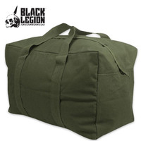 Black Legion Parachute Cargo Bag OD