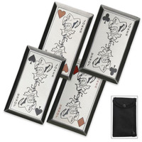 Ninja Joker Throwing Cards Four Piece Set With Pouch