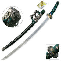Green Jasmine Hand Forged Samurai Sword
