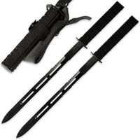 Twin Ninja Sword Two Piece Set With Sheath