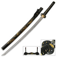 Flying Crane Hand Forged Samurai Sword
