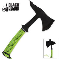 Black Legion Fantasy Axe with Sheath