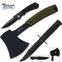 Tomahawk Three-Piece Survival Set