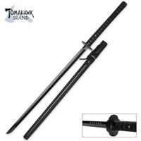 Samurai Warrior Ninjanto Ninja Sword with Black Blade