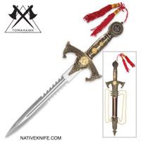 Knights Templar Dagger with Sheath