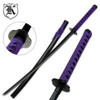 Purple Emperor Katana Sword With Scabbard