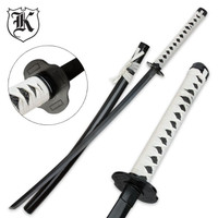 White Emperor Katana Sword With Scabbard