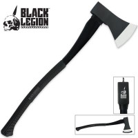 Black Legion Firefighter Long Axe