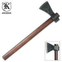 Hand-forged Axe