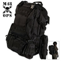M48 Ops Gear Backpack Black