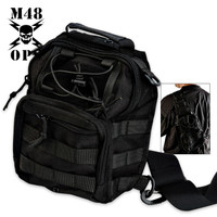 M48 Gear Tactical Military Bag Black