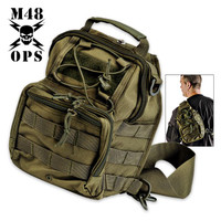 M48 Gear Tactical Military Bag Green