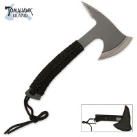 Tomahawk Compact Full Tang Axe With Spike For Camping & Hiking