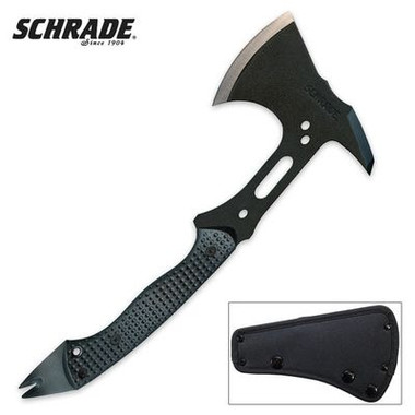 Schrade Carbon Steel Tactical Hatchet