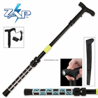 Zap Self Defense Cane with Flashlight PECANE