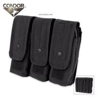 Condor Triple AR/AK Mag Pouch UT3019