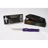Marfione Custom HALO 5 OTF Automatic Knife High Polish Tanto Point