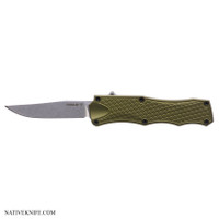 Hogue Knives OTF Automatic Knife OD Green HOG34011