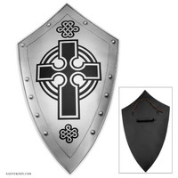 Crusaders Cross Iron Faith Shield