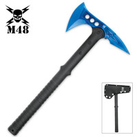 United Cutlery M48 Blue-Coated Tactical Tomahawk Axe UC3174
