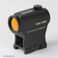 Holosun Paralow Solar Powered 2 MOA Red Dot Sight HS403C