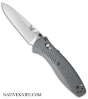 Benchmade Barrage AXIS-Assist Knife Gray 580-2