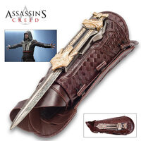 Assassin's Creed Hidden Blade of Aguilar Faux Leather Gauntlet MC40685