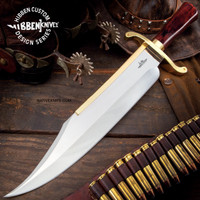 Gil Hibben Old West Bowie Knife - Bloodwood Edition GH5069