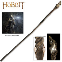 The Hobbit Illuminated Staff of The Wizard Gandalf the Grey With Wall Mount UC3107