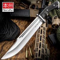 Honshu Conqueror Bowie Knife And Sheath UC3321