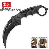 United Cutlery Honshu Karambit with Sheath / Shoulder Harness UC2791