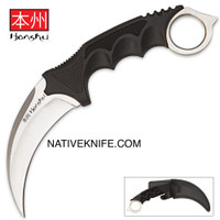 United Cutlery Honshu Karambit Silver Boot Sheath UC2786